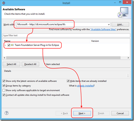 Importing Java code into Git on Visual Studio Online from